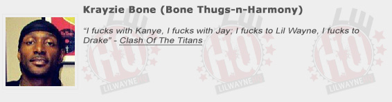 Krayzie Bone Shouts Out Lil Wayne