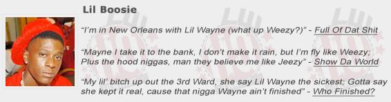 Lil Boosie Shouts Out Lil Wayne