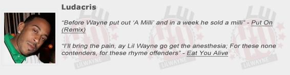 Ludacris Shouts Out Lil Wayne