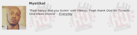Mystikal Shouts Out Lil Wayne