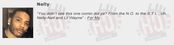 Nelly Shouts Out Lil Wayne