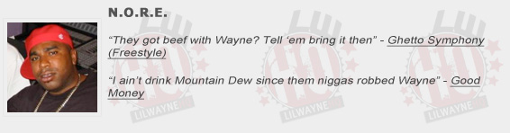 NORE Shouts Out Lil Wayne