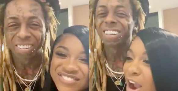 Lil Wayne Brings In The New Year With His Kids & Fiance, Previews New Music