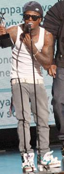 Lil Wayne 2011 BET Awards Style