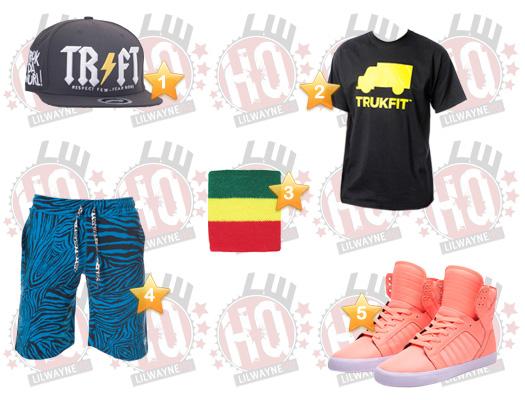 Lil Wayne iHeartRadio Music Festival Clothes List