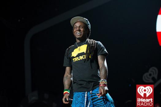 Lil Wayne iHeartRadio Music Festival Style