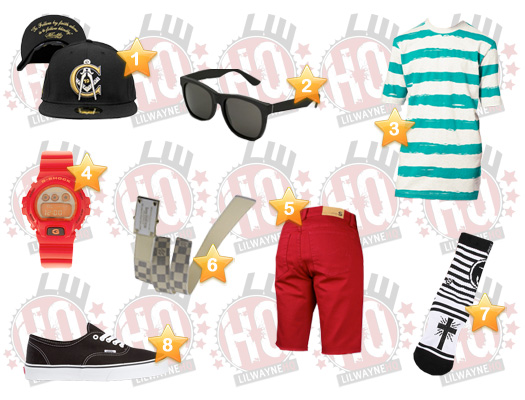 Lil Wayne Ballin Video Clothes List