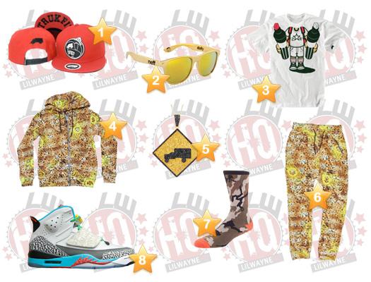 Lil Wayne Caesars Escape Total Rewards Concert Clothes List