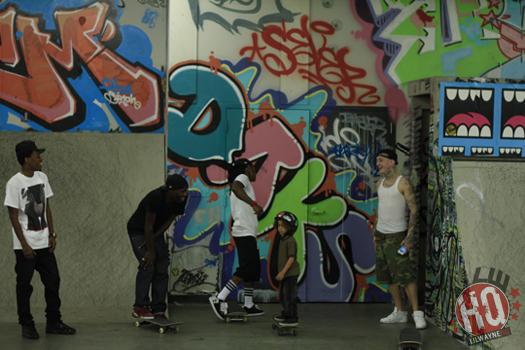 Lil Wayne Da Playground Style