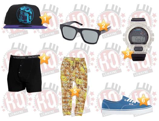 Lil Wayne Finito Video Clothes List