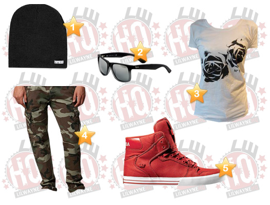 Lil Wayne Fire Flame Remix Video Clothes List