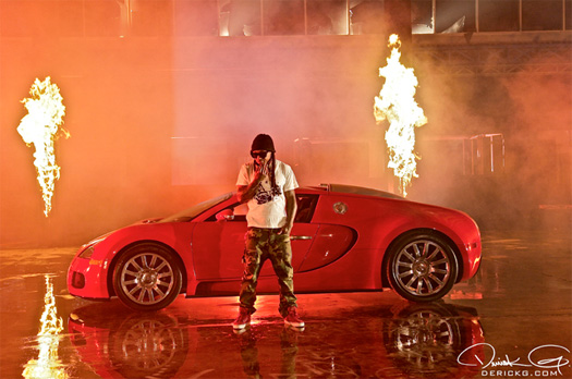 Lil Wayne Fire Flame Remix Video Style