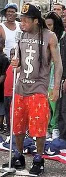 Lil Wayne God Bless Amerika Music Video Style