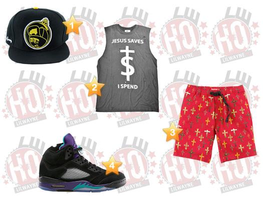Lil Wayne God Bless Amerika Video Clothes List