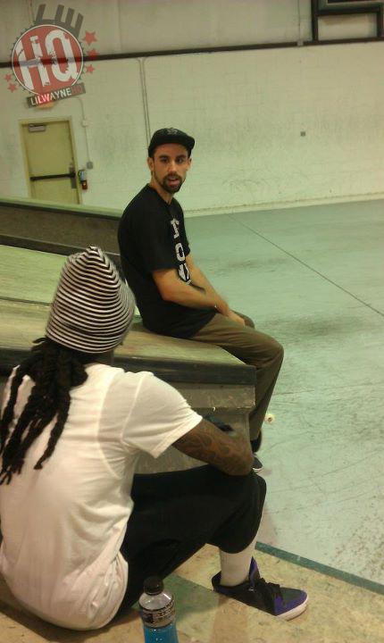 Lil Wayne Midtown Skate Park Style