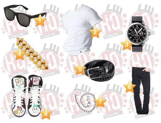 Lil Wayne Money To Blow Video Clothes List