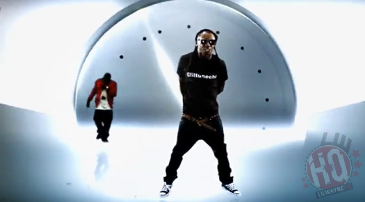 Lil Wayne On The Wall Video Style