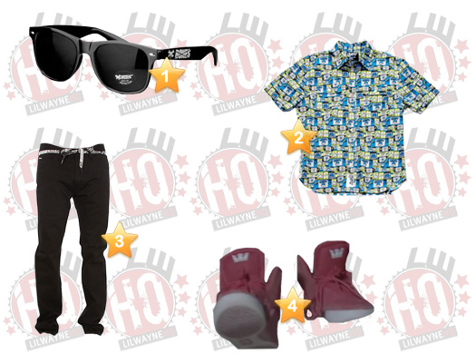 Lil Wayne Rich As Fuck Video Clothes List