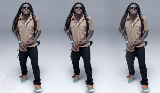 Lil Wayne Scream & Shout Remix Video Style