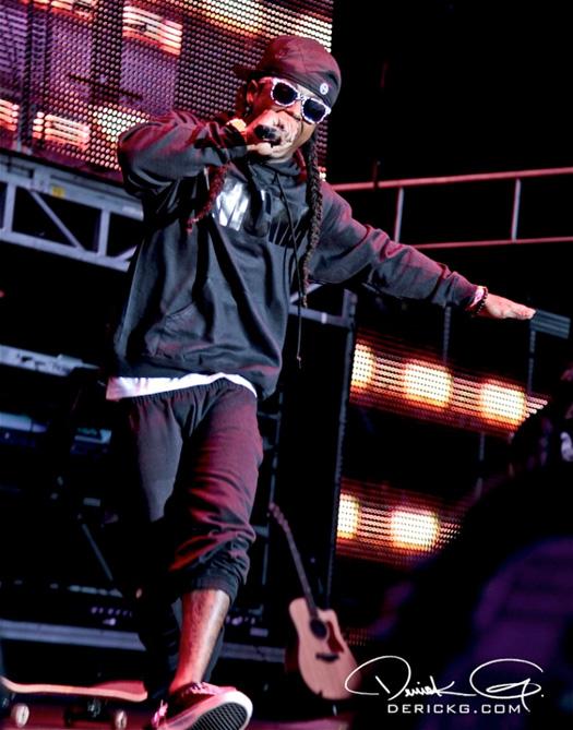 Lil Wayne Sydney Concert Style