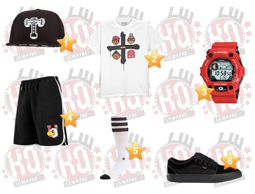 Lil Wayne Tampa Pro Clothes List