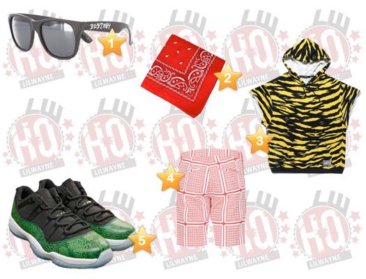 Lil Wayne Thug Cry Video Clothes List