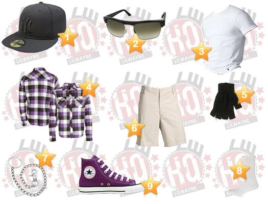 Lil Wayne Voodoo Experience Clothes List