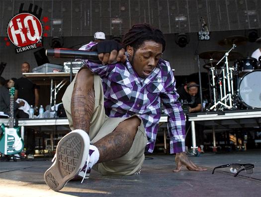 Lil Wayne Leg Tattoos