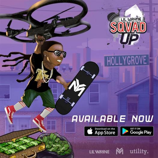 Lil Wayne Sqvad Up Mobile Game